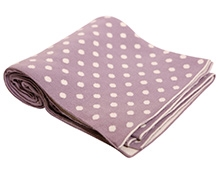 Pluchi Cotton Knitted Baby Blanket Tiny Dots