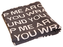 Pluchi Cotton Knitted Teen Blankets Wrap Me Around You
