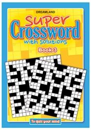 Dreamland Publication Super Crossword 3 - English