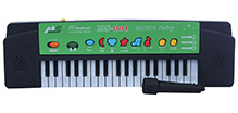 Fab N Funky Baby Electronic Keyboard Piano With Microphone - 37 Keys - 12.5 X 43.5 X 5 Cm