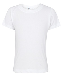 Paaple Half Sleeve T-Shirt Plain - White
