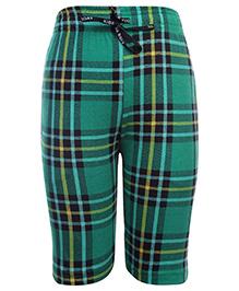 Kids Today Bermuda Shorts With Drawstring - Green