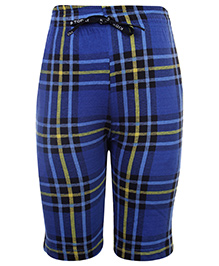 Ollypop Bermuda Shorts With Drawstring - Blue