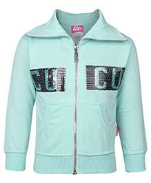 Cucu Fun Sweatshirt Full Sleeves - Light Green
