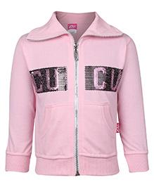 Cucu Fun Sweatshirt Full Sleeves - Light Pink
