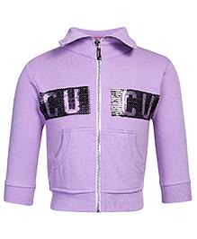 Cucu Fun Sweatshirt Full Sleeves - Purple