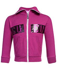 Cucu Fun Sweatshirt Full Sleeves - Dark Purple