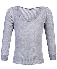 Warm Hug Thermal Vest Full Sleeves - Grey