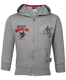 Cucu Fun Hooded Sweatshirt - Grey