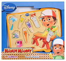 Eichhorn Handy Manny Wooden Tool Puzzle