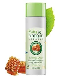 Biotique Bio Honey Cream Sensitive Mommy And Baby Body Wash - 120 ml