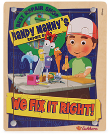 Eichhron Handy Manny Puzzle - 16 Pieces