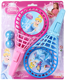 Disney Princess Catch And Ball Game Set - Pink And Blue