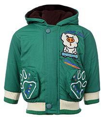 Peridot Hooded Jacket Cartoon Patch - Green