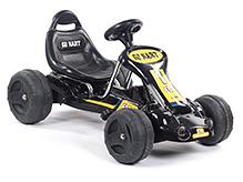 Fab N Funky Go Kart Peddle Car - Black