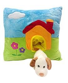 Soft Buddies Cushion Multi Color - Dog House