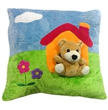 Soft Buddies Cushion Multi Color - Bear House