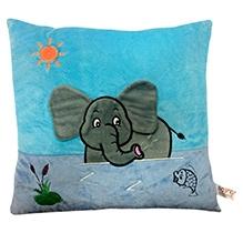 Soft Buddies Cushion Multi Color - Elephant Print