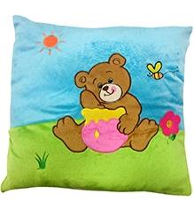 Soft Buddies Cushion Multi Color - Bear Print