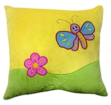 Soft Buddies Cushion Multi Color - Bee Print