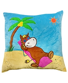 Soft Buddies Cushion Multi Color - Resting Horse