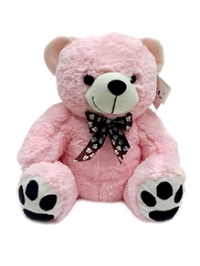 Soft Buddies Teddy Bear Soft Toy Small - Pink