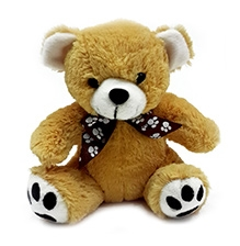 Soft Buddies Teddy Bear Soft Toy Small - Brown