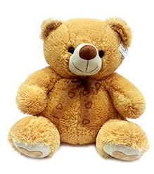 Soft Buddies Teddy Bear Soft Toy Large - Brown
