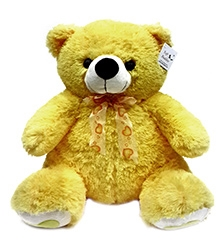 Soft Buddies Teddy Bear Soft Toy Large - Yellow