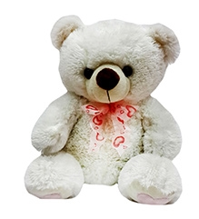 Soft Buddies Teddy Bear Soft Toy Big - White