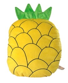 Soft Buddies Cushion In Pineapple Shape - Yellow
