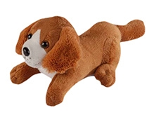 Soft Buddies Puppy Soft Toy - Brown