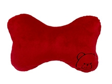 Soft Buddies Head Rest - Red - 3.2 X 8.8 X 13.6 Inches