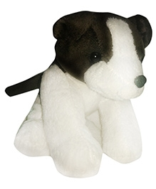 Soft Buddies Doggy Soft Toy - White And Grey