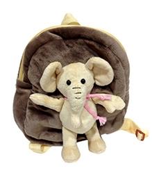 Soft Buddies Elephant School Bag