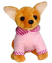 Soft Buddies Soft Toy Brown - Chi Hua Hua Dog
