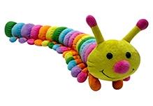 Soft Buddies Soft Toy Caterpillar Multi Color