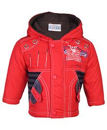 Peridot Hooded Jacket Full Sleeves - Sports Theme