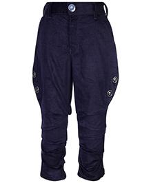 Blazo Jodhpuri Pants - Navy Blue