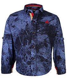 Blazo Shirt Full Sleeves Collar Neck - Abstract Theme
