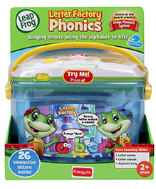 Leap Frog Letter Factory Phonics - 2 Years +