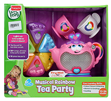 Leap Frog Rainbow Tea Set - 10 Pieces - 12 To 36 Months