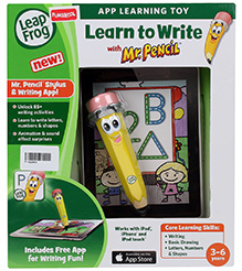 Leap Frog Learn To Write With Mr. Pencil - 3 To 6 Years