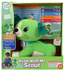 Leap Frog Read With Me Scout - Green Scout - 2 To 5 Years