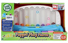 Leap Frog Poppin' Play Piano - 12 To 36 Months