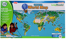 Leap Frog Interactive World Map - 4 to 8 Years +