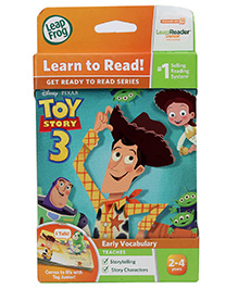 Leap Frog Learn To Read Disney Toy Story 3 - 18 x 12.5 x 1.5 cm
