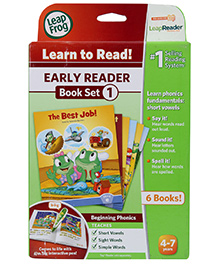 Leap Frog Early Reader Book Volume 1 - English