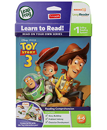 Leap Frog Disney Pixar Toy Story 3 Book - English