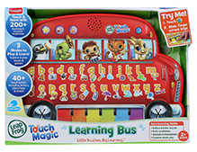 Leap Frog Touch Magic Learning Bus - 2 Years +